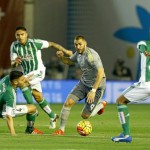 Real Madrid failed to take all 3 points from the clash with Real Betis
