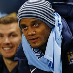 Vincent Kompany will be out for over a month because of a severe injury