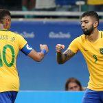 С изключителен футбол Бразилия се класира за 1/4 финалите, шансът покри датчаните