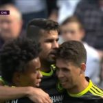 And Chelsea conceded first error in campaign