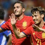 Испания размаза слабак в първия квалификационен сблъсък