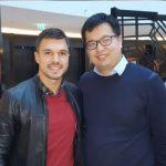 Посрещнаха Божинов като звезда в Китай (ВИДЕО)
