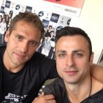 Stiliyan Petrov and Berbatov are back together on the pitch
