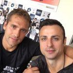 Стилиян Петров и Бербатов отново заедно на терена
